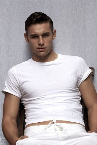 french canadian male model - Mathieu Laprise by Photographer Robert Ferron