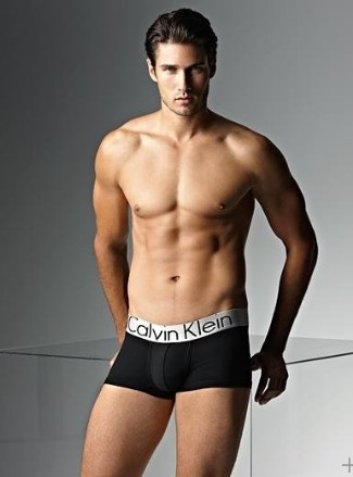 french canadian male models - francis cadieux in calvin klein boxer briefs