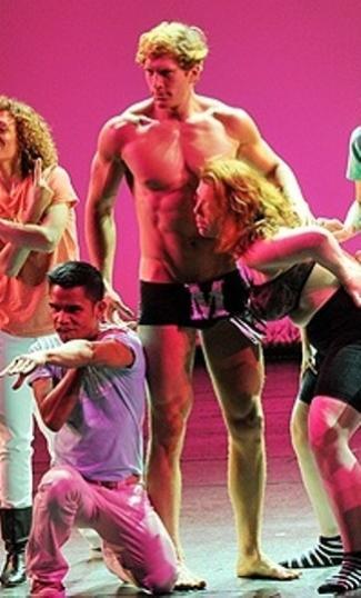 ginger hunk - jordan dean on broadway - underwear