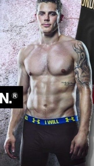hockey player underwear - tyler seguin in under armour boxers
