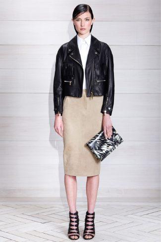jason wu womens leather jacket - resort 2014