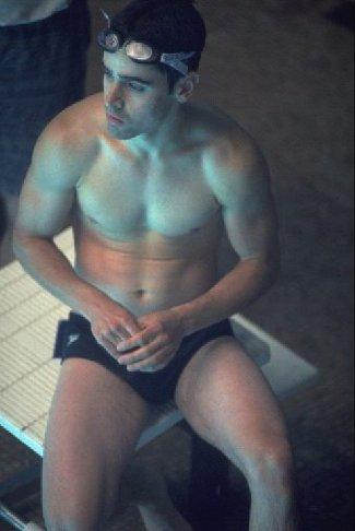 jesse bradford in speedo - maybe from swimfan