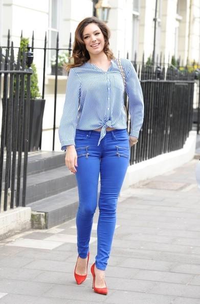 kelly brook skinny jeans - Paige Edgemont Ultra Girls Skinny Jeans