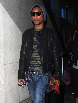 lanvin leather jacket for men 2013 - pharrell williams moto jacket