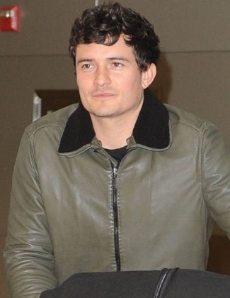 lanvin leather - male celebrities wearing lanvin leather 2013 - orlando bloom