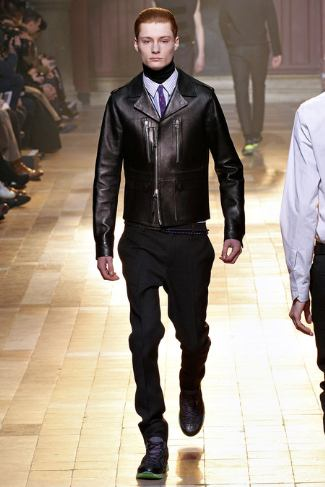 lanvin mens leather jacket - 2013 fall winter