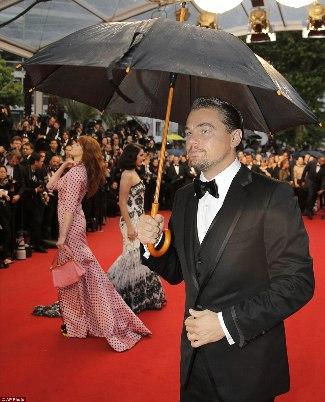 leonardo di caprio tom ford suit - celebrity bow ties - cannes 2013