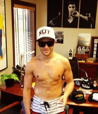 marco andretti shirtless nascar drivers