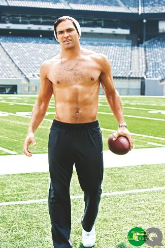 shirtless nfl players mark sanchez