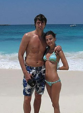 mehmet okur shirtless with gf or wife