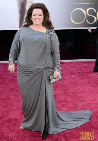 melissa-mccarthy-oscars-2013-red-carpet