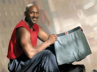 NBA Basketball Players in Underwear michael jordan boxers underwear - hanes