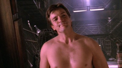 nathan fillion shirtless in firefly