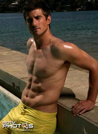shirtless cricketers nathan reardon - aussie cricket hunk