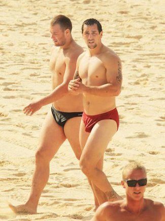 nrl rugby players speedo