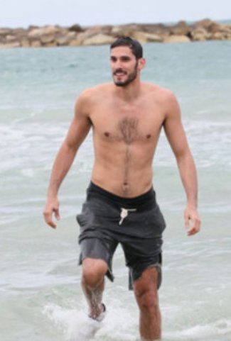omri casspi shirtless