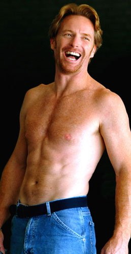 famous ginger men shirtless redhead actor Allan Bubba Kayser