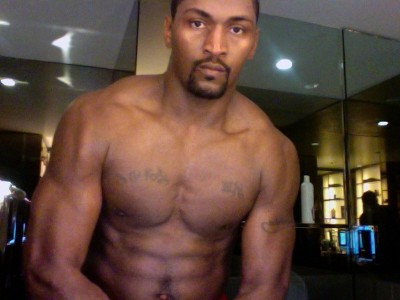 ron artest shirtless metta world peace