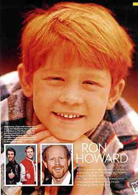redhead haircuits - ron howard as young child actor