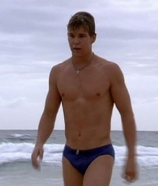 ryan kwanten young - speedo in home and away