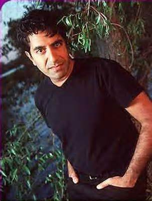 sanjay gupta in gay vneck shirt