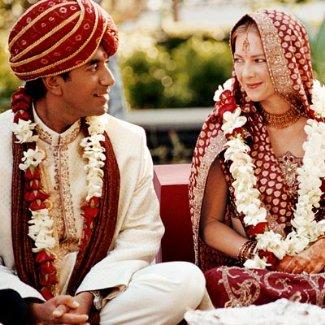sanjay gupta rebecca olson wedding ceremony