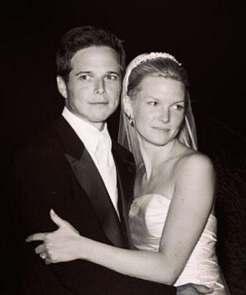 scott wolf wedding with wife kelley