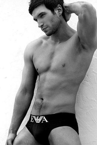 scottish men wearing underwear - male model callum casserly