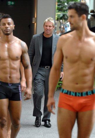 shane warne spinner underwear male models