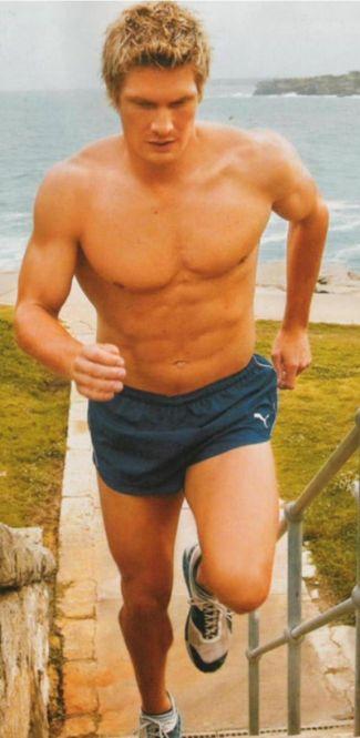 shane watson - cricketer hunk - short shorts