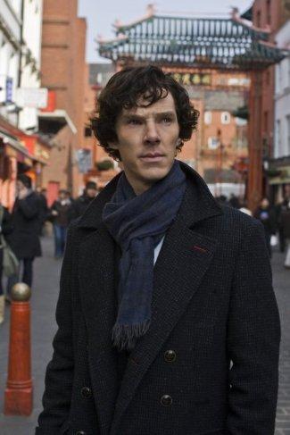sherlock holmes coat - belstaff millford on benedict cumberbatch