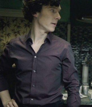 sherlock shirt - dolce gabbana - benedict cumberbatch