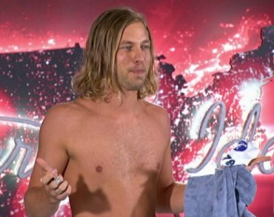 shirtless country singers - casey james on american idol