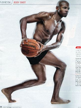 shirtless nba players - ray allen