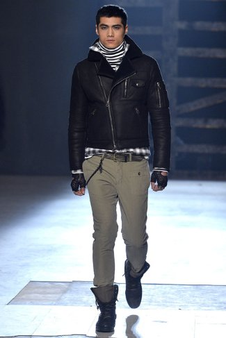 skinny pants for men - michael bastian collection NY - fw 2013