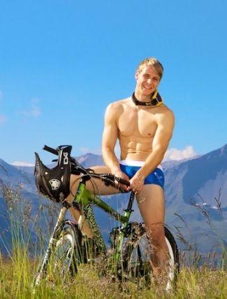 swiss male models underwear - diego barberi