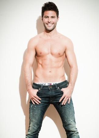 swiss underwear models - sandro cavegn mr switzerland 2012
