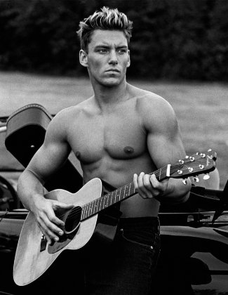 sylvain grenier - french canadian male model