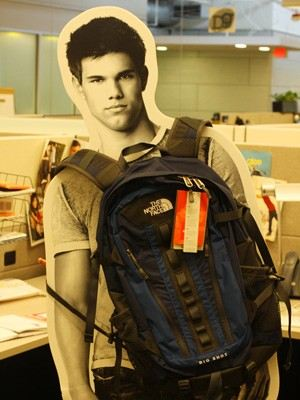 taylor lautner - Big Shot backpack by The North Face