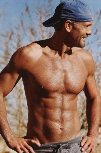 tim mcgraw shirtless country singer