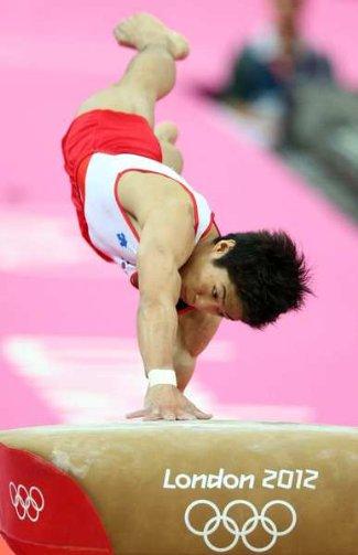 male gymnast height - how tall - Yang Hak-seon