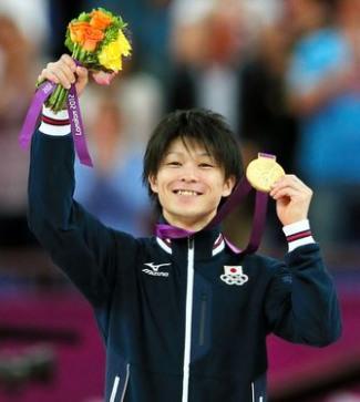 male gymnast heigt - kohei uchimura japan