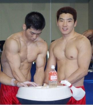 shirtless korean gymnast - Yang Tae Young