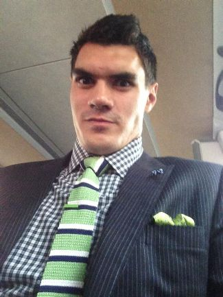steven adams fashion style - suit and tie