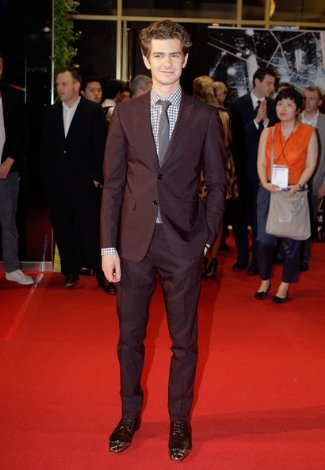 Andrew Garfield wore Christian Louboutin Gareth Mens Shoes
