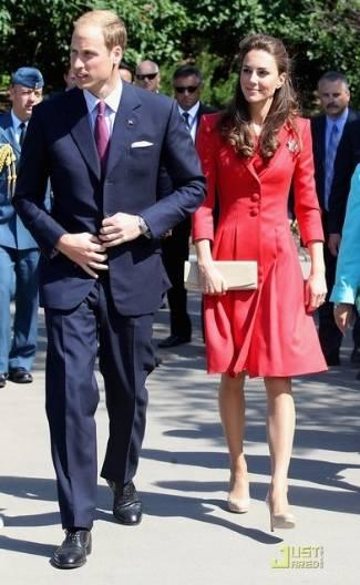 Duchess of Cambridge Coat Dress - Catherine Walker Marianne Coat-Dress