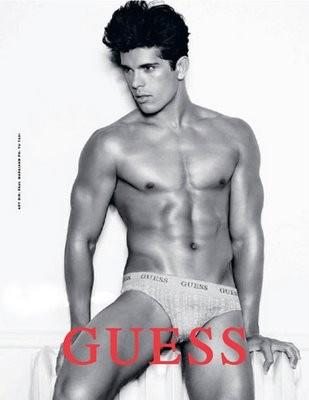 guess underwear for men - male model edilson