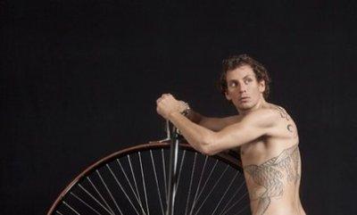 Filippo Pozzato shirtless cyclist - no clothes