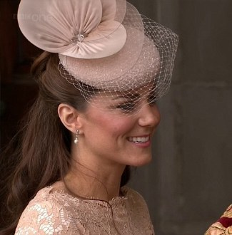 Kate Middleton Hats - Jane Taylor Beaded Cocktail Hat