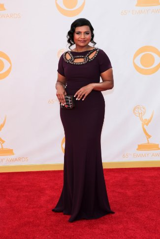 Mindy Kaling In Edition by Georges Chakra – 2013 Emmy Awards